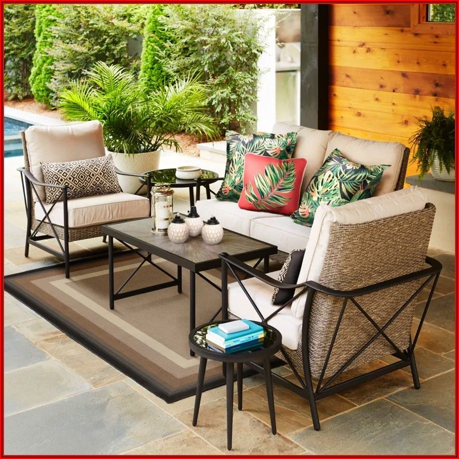 Allen And Roth Rothenbee Patio Furniture