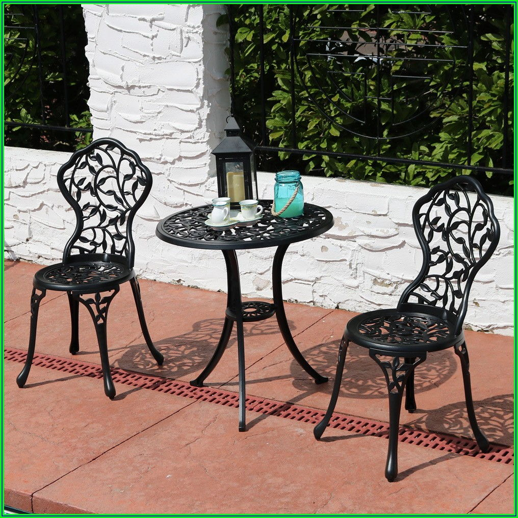 Aluminum Patio Bistro Set
