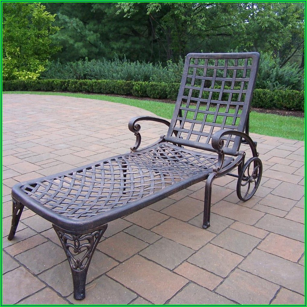 Aluminum Patio Chaise Lounge