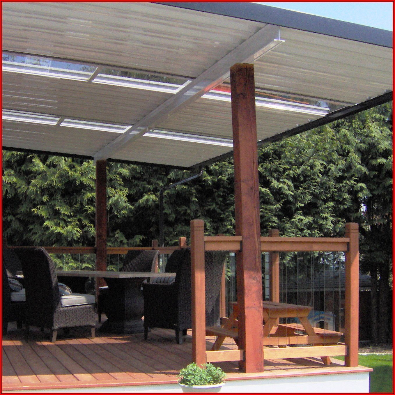Aluminum Patio Covers With Skylights