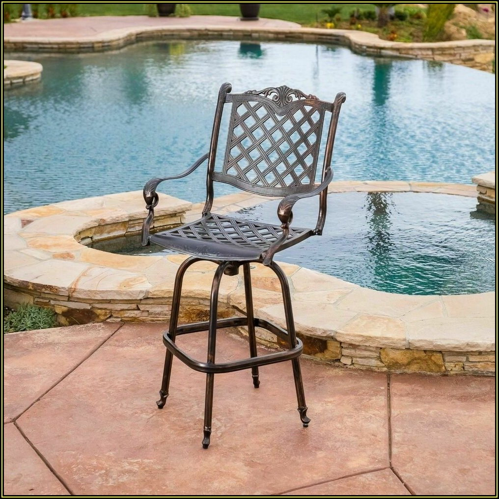 Aluminum Swivel Patio Chairs