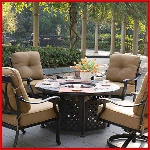 Amazon Patio Furniture With Fire Pit