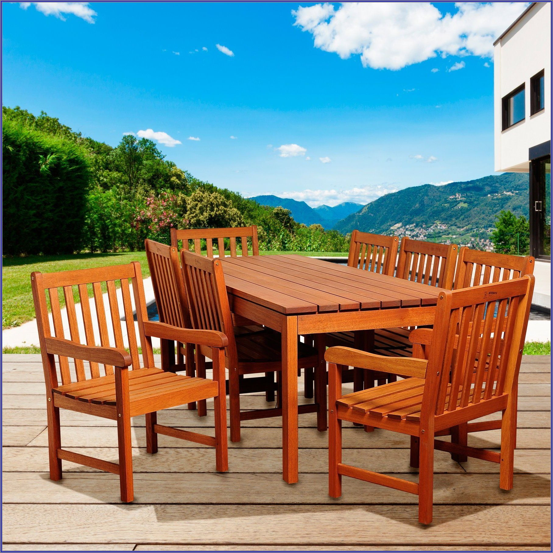 Amazonia Eucalyptus Patio Furniture