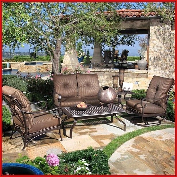 American Leisure Patio Furniture Santa Cruz