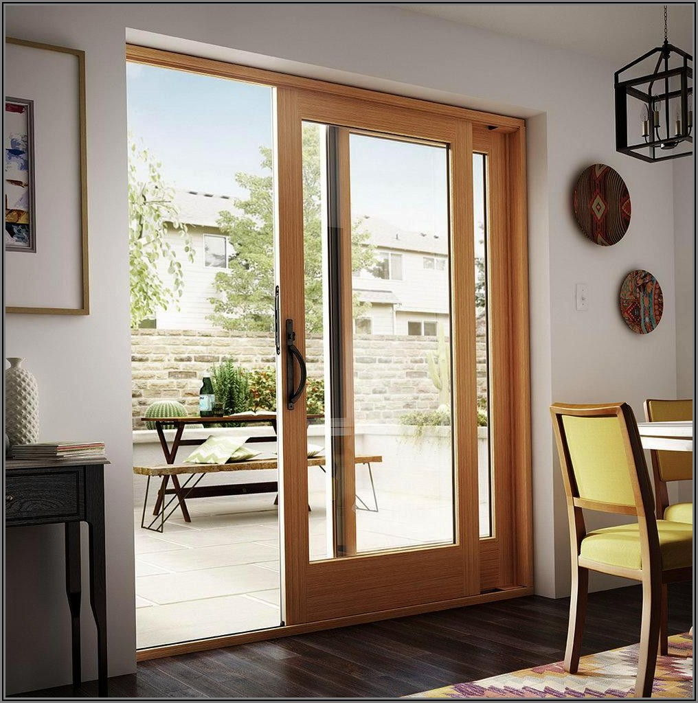 Andersen Patio Door With Built In Blinds