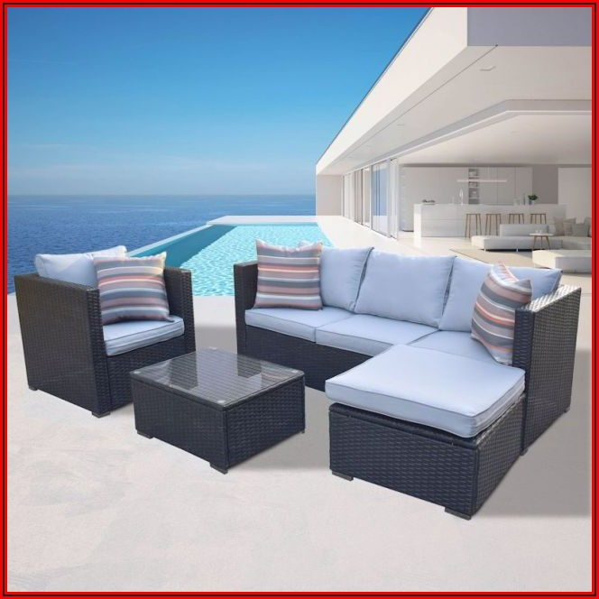 Arcadian Outdoor Patio Furniture 4 Piece Set