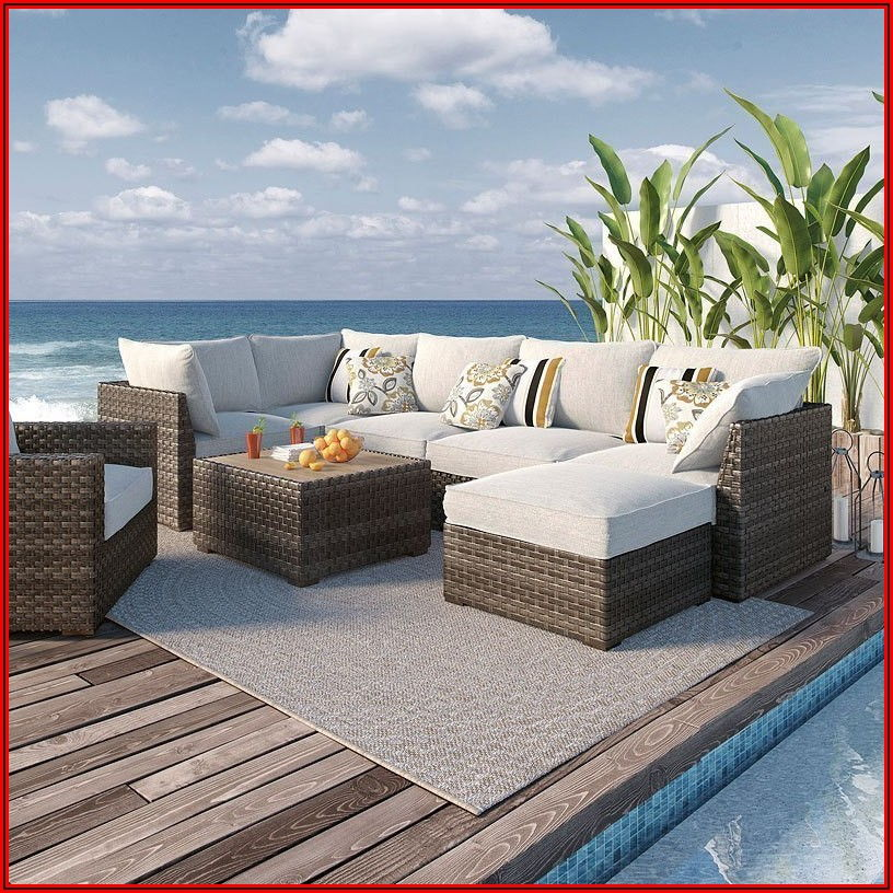 Ashley Spring Dew Patio Furniture
