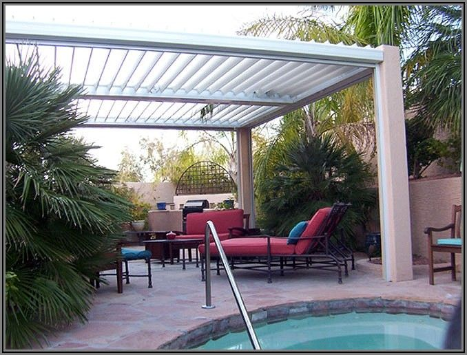 Automatic Louvered Patio Cover