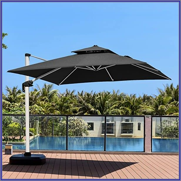 Backyard Creations 11 Offset Patio Umbrella