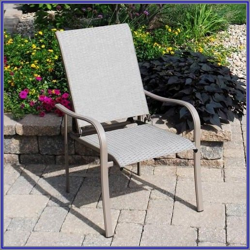 Backyard Creations Edgewater Ii Stack Patio Chair