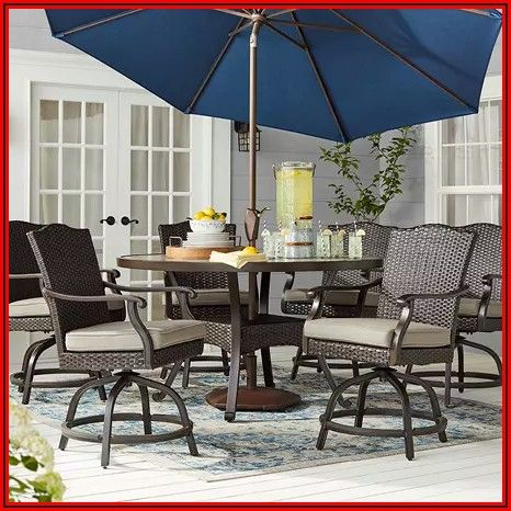 Balcony Height Patio Dining Set