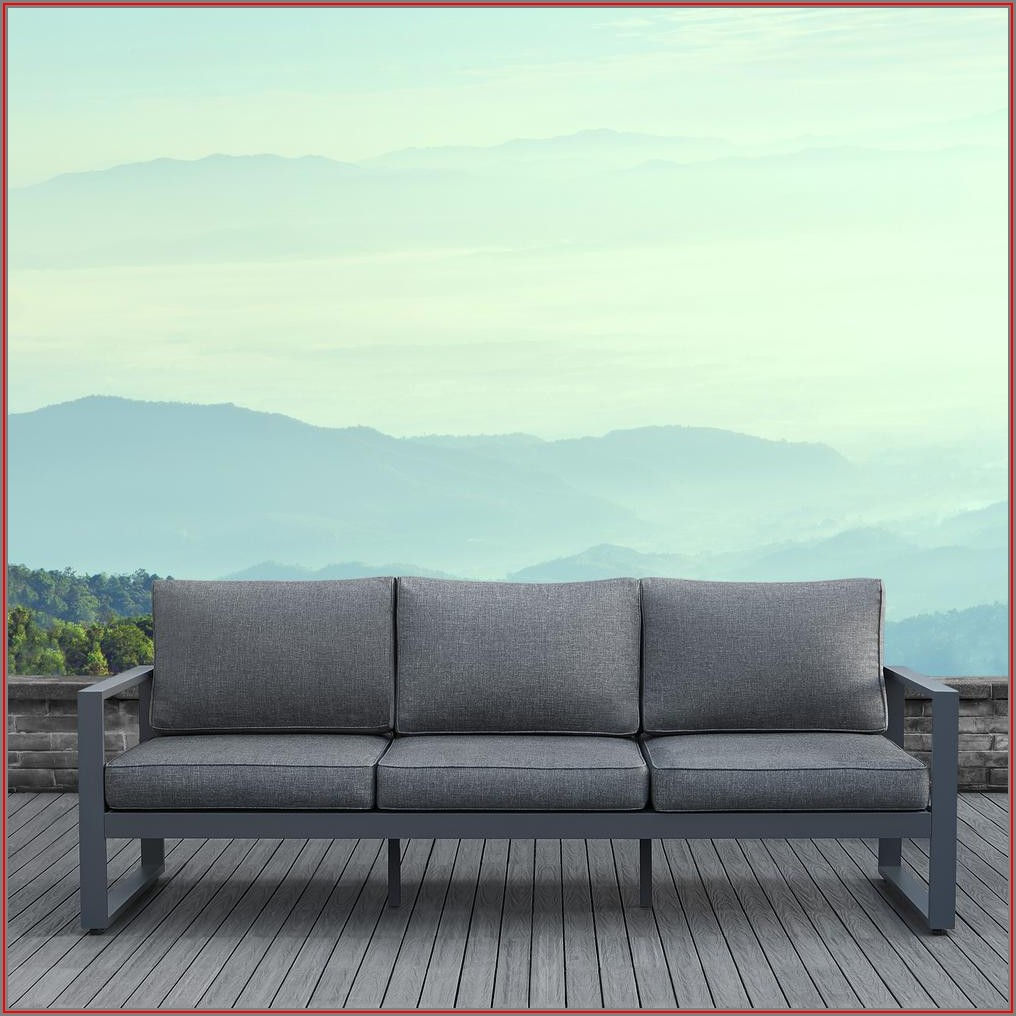 Baltic Patio Sofa With Cushions
