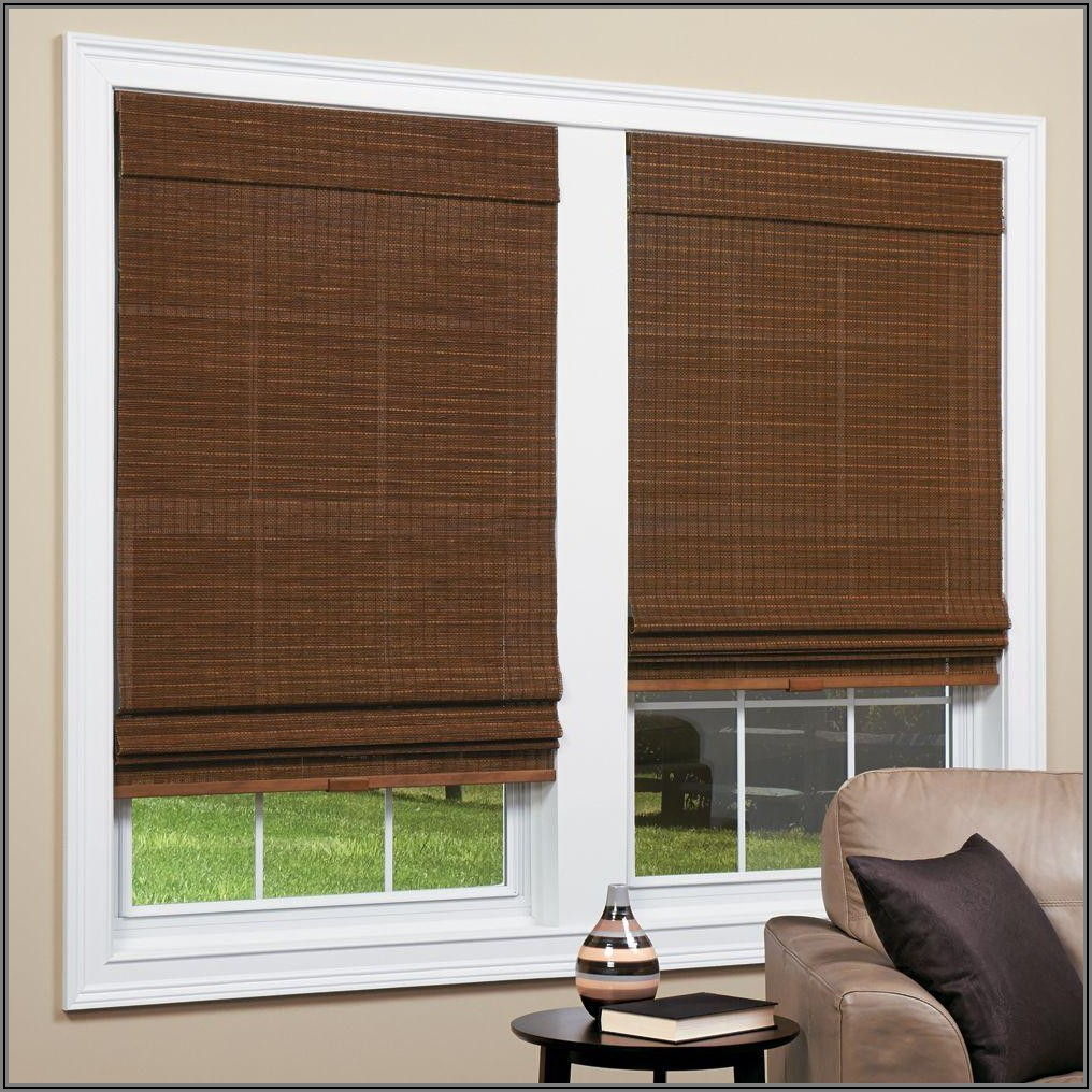 Bamboo Patio Blinds Home Depot
