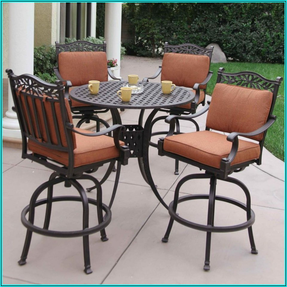 Bar Style Patio Table And Chairs