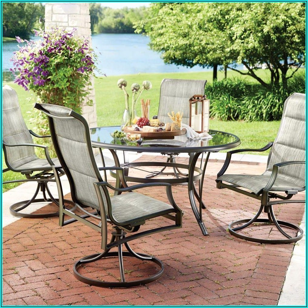 Barnsdale Teak 7 Piece Patio Dining Set