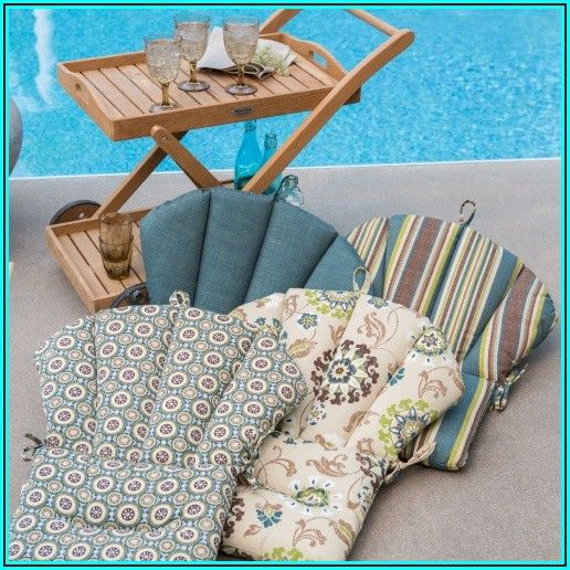 Barrel Back Patio Chair Cushions