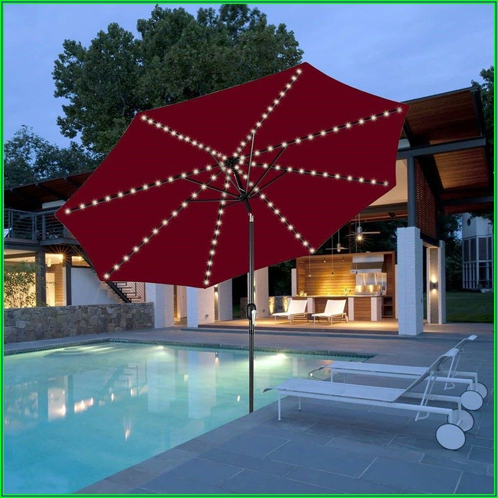 Battery Lights For Patio Umbrella