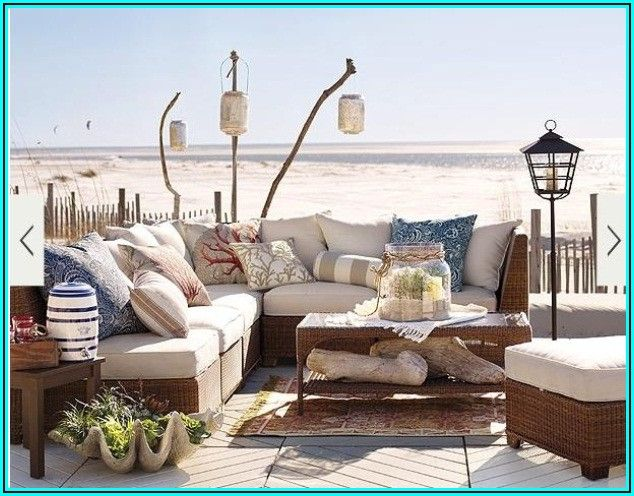 Beach Themed Patio Decor