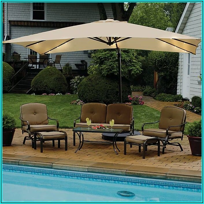 Bed Bath And Beyond Rectangular Patio Umbrella