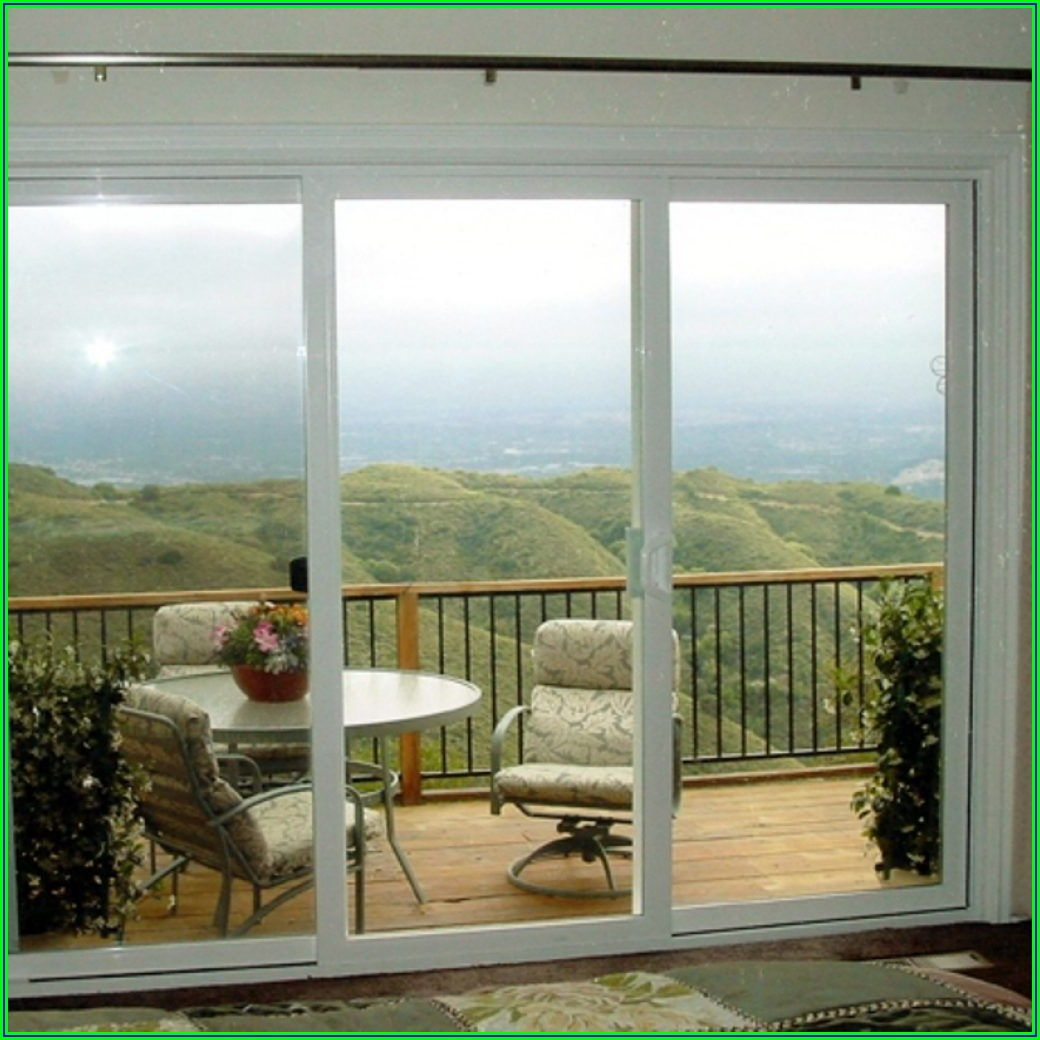 Best 3 Panel Sliding Patio Door