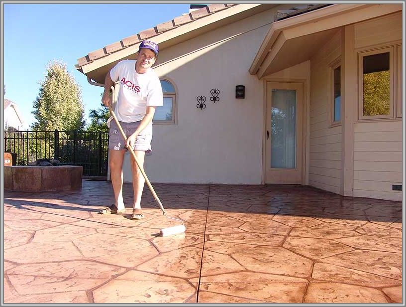 Best Sealant For Concrete Patio
