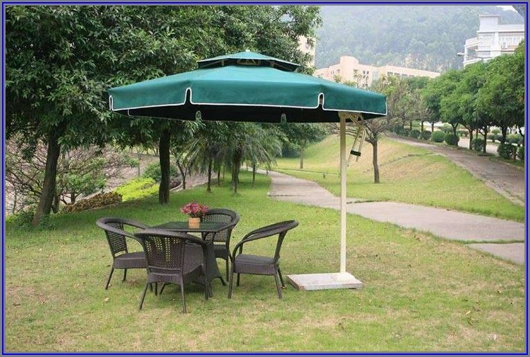 Big Square Patio Umbrella