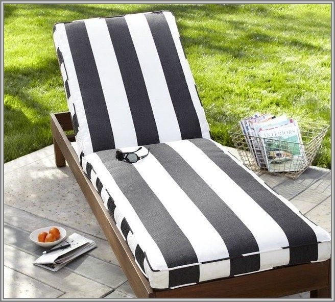 Black And White Patio Furniture Cushions