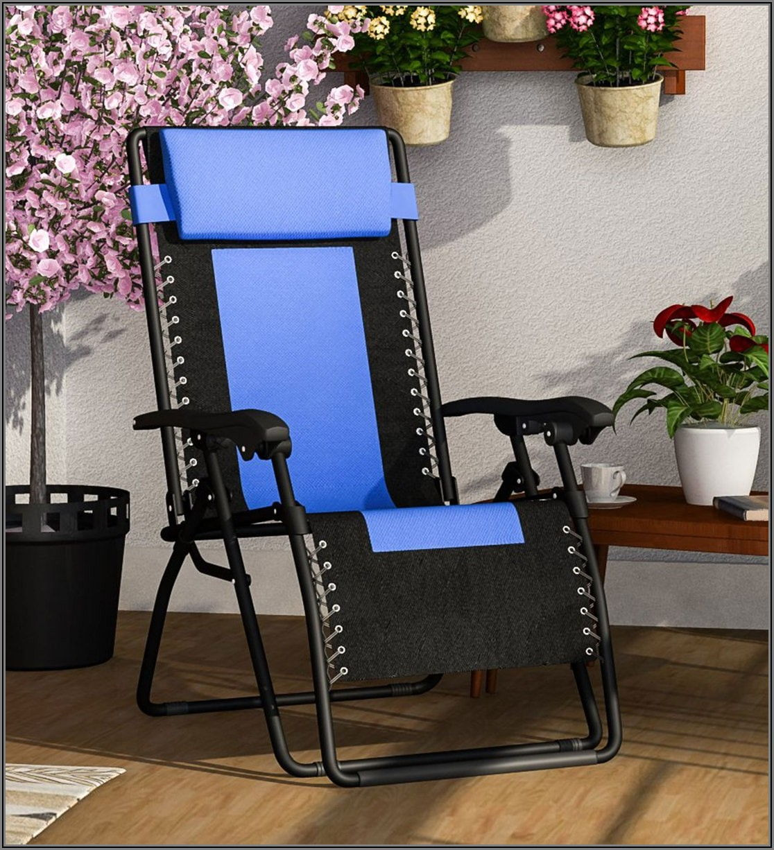 Black Metal Folding Patio Chairs