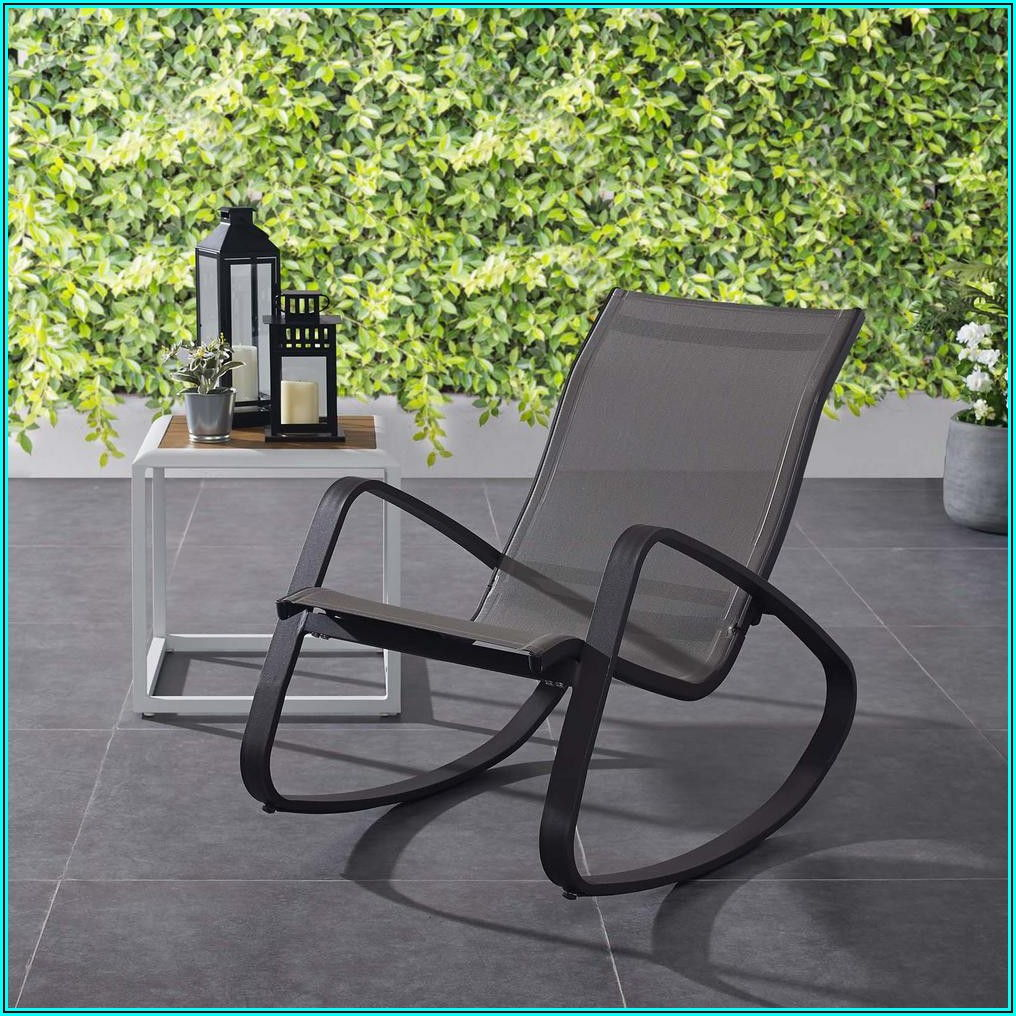 Black Sling Patio Chairs