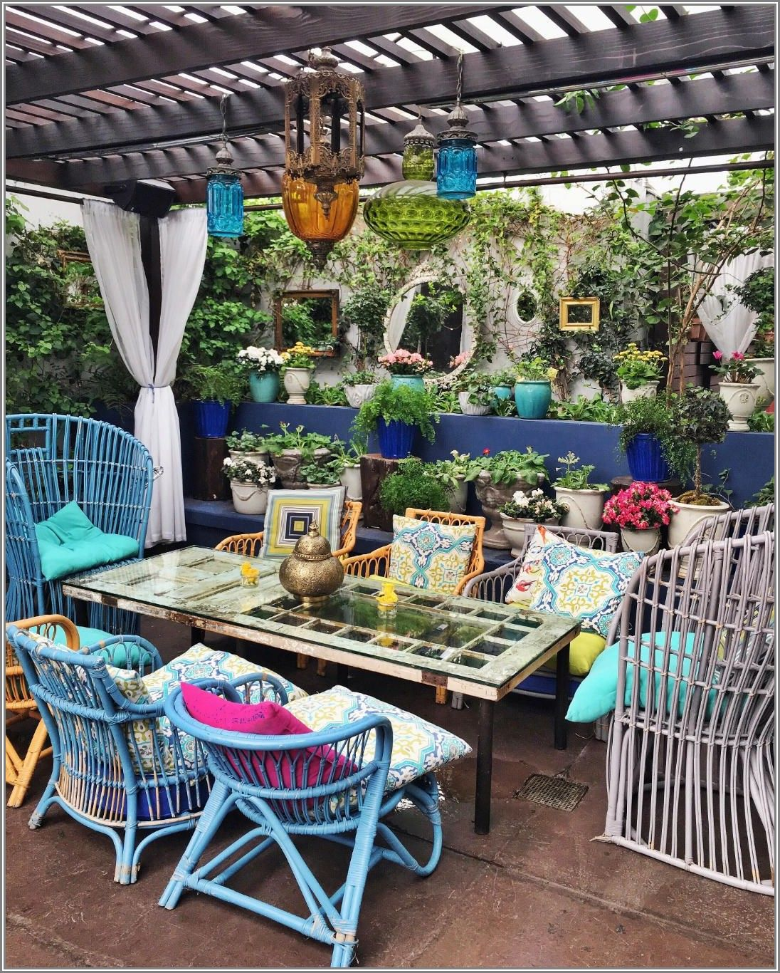Boho Outdoor Patio Furniture
