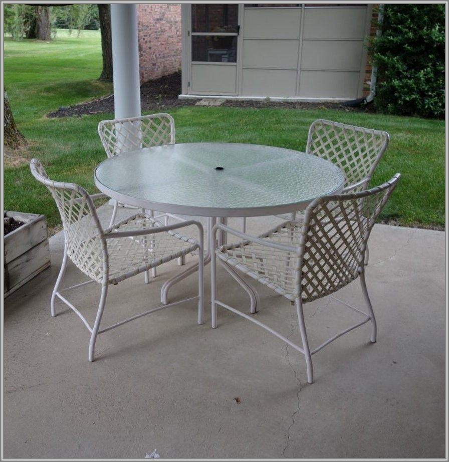 Brown Jordan Patio Table Glass Replacement
