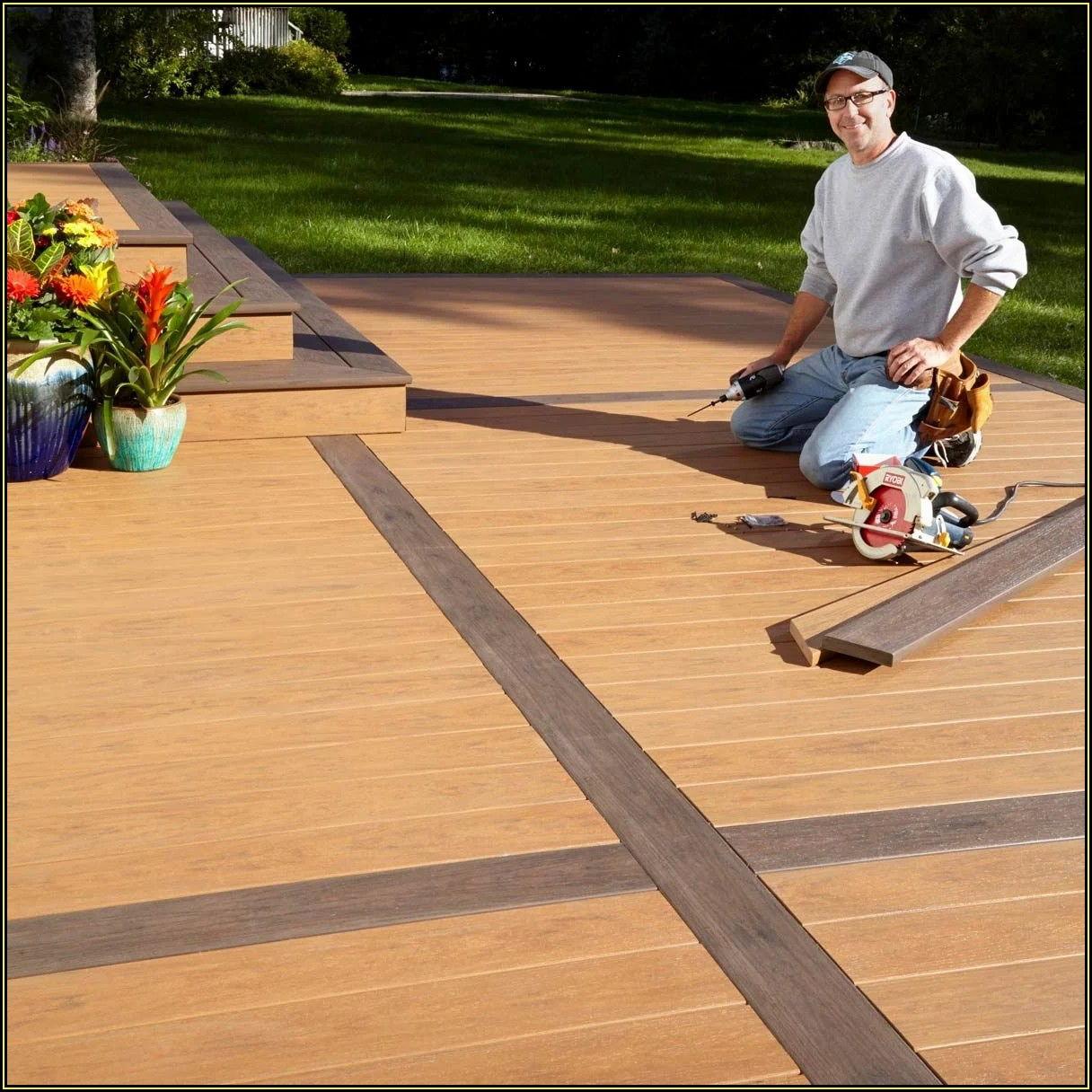 Build Deck On Concrete Patio