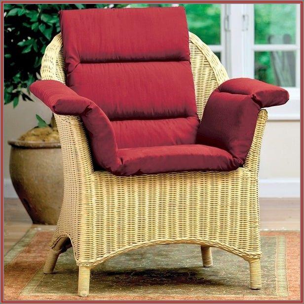 Burgundy Patio Chair Cushions