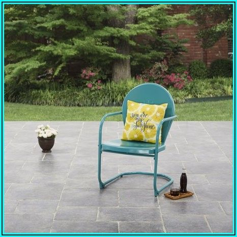 C Spring Motion Patio Chair