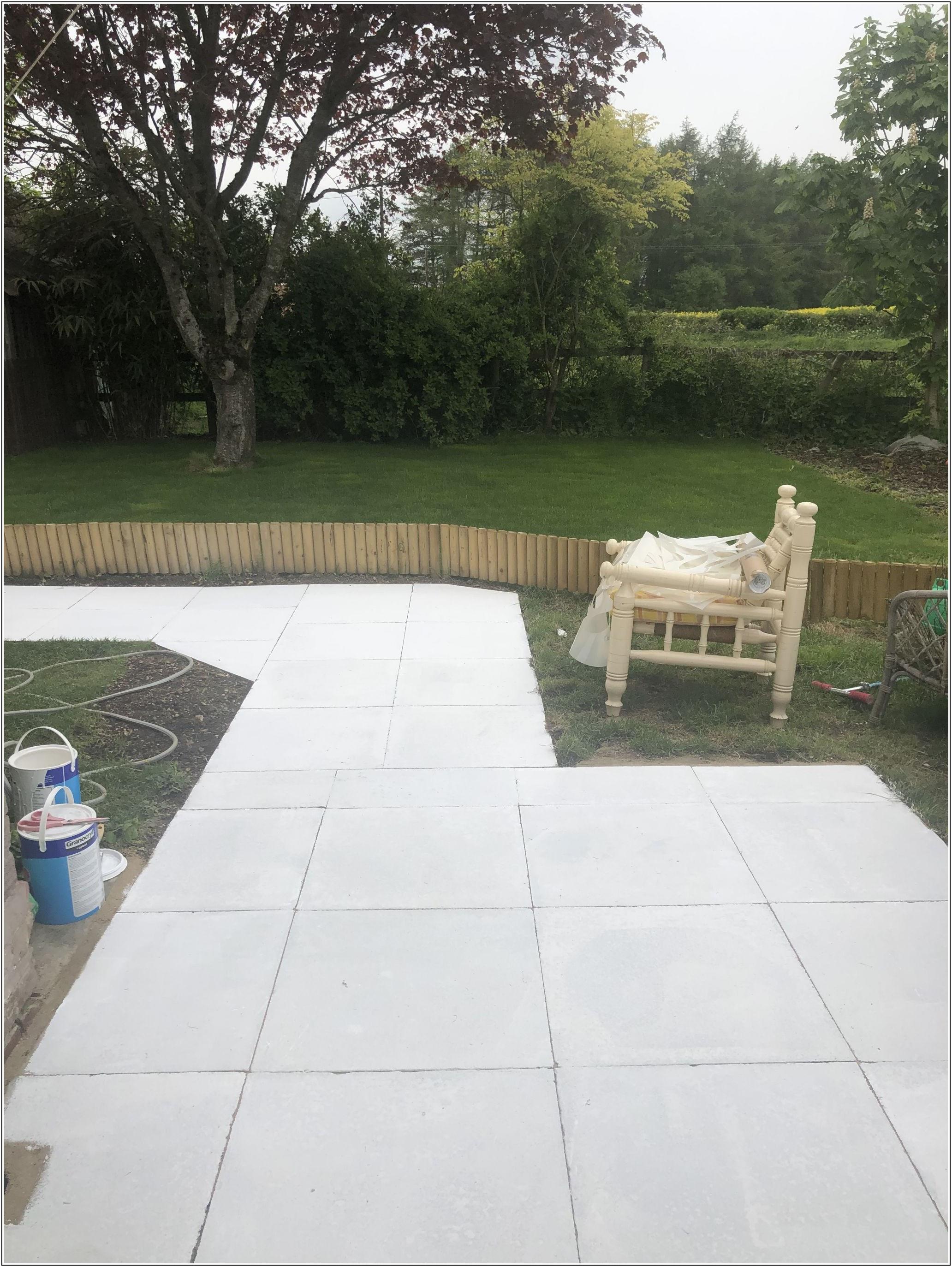 Can You Paint Concrete Patio Slabs