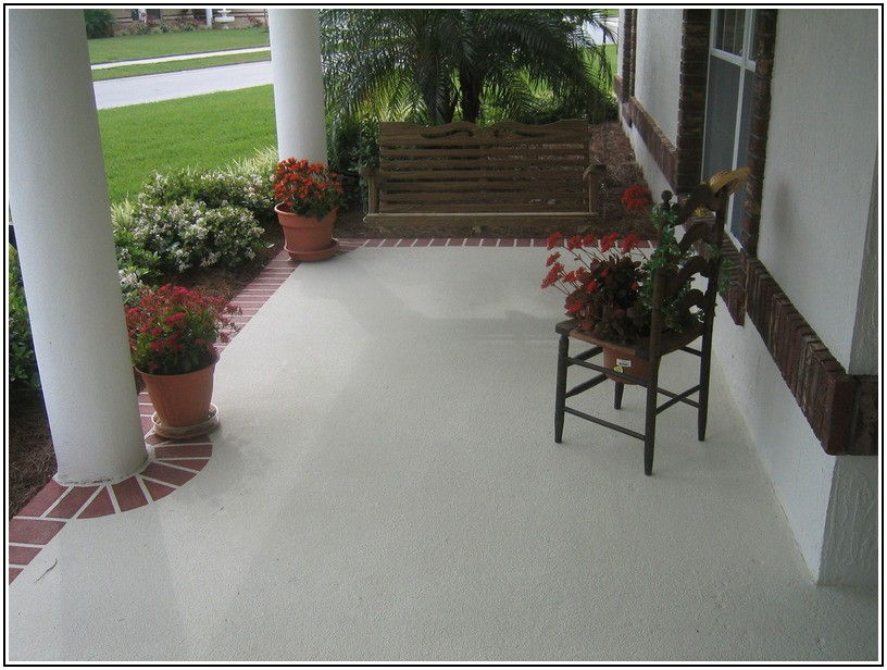 Can You Paint Concrete Patio