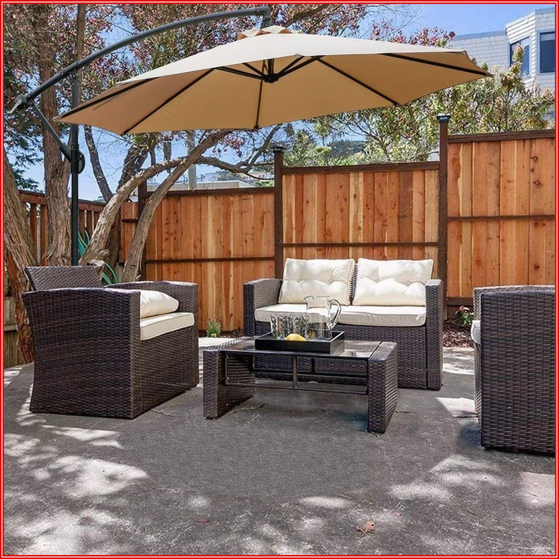 Cantilever Offset Patio Umbrella