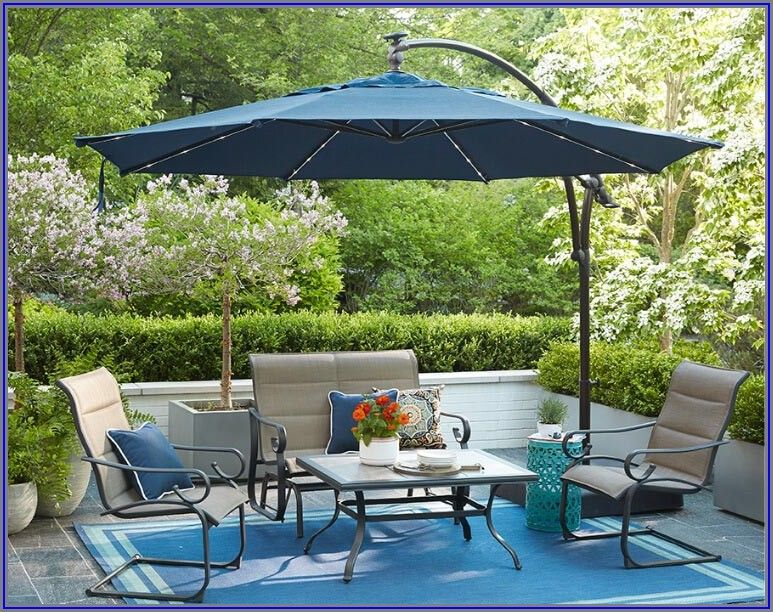 Cantilever Patio Umbrellas Home Depot