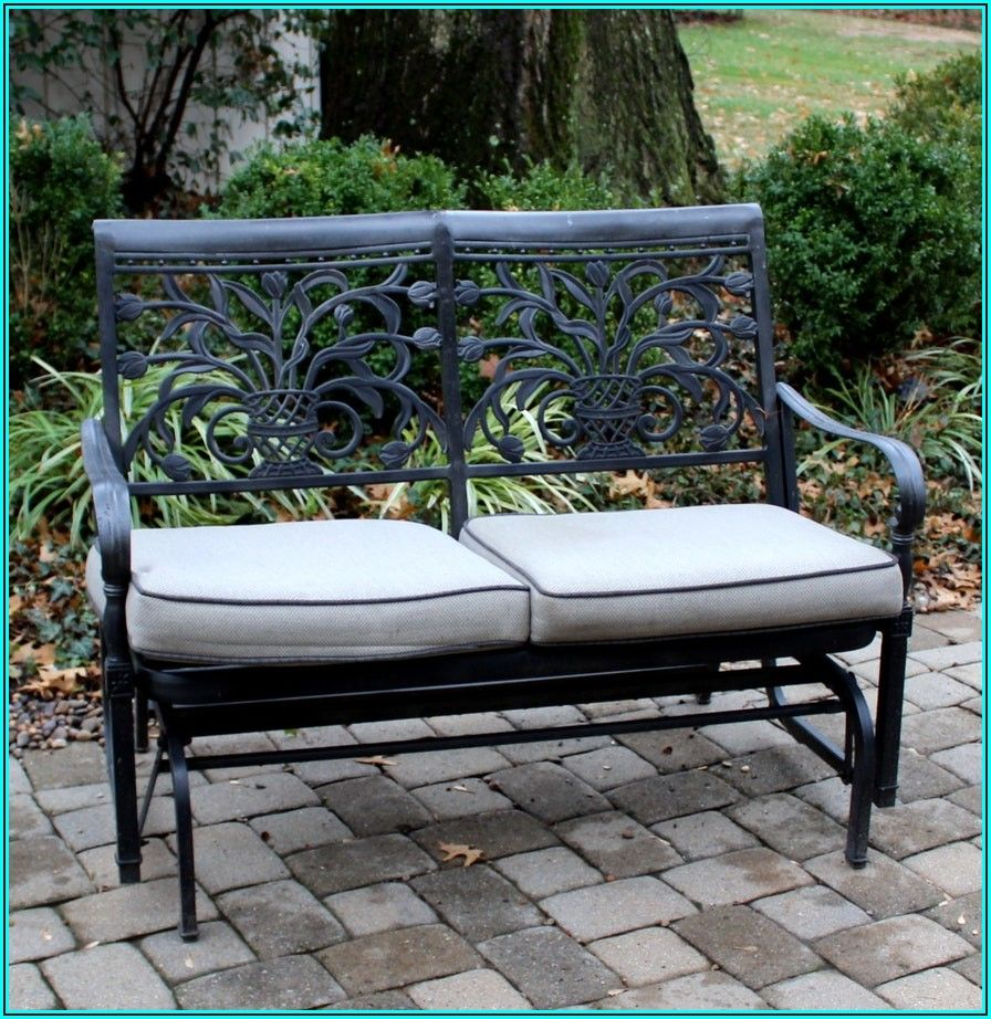 Cast Aluminum Patio Glider