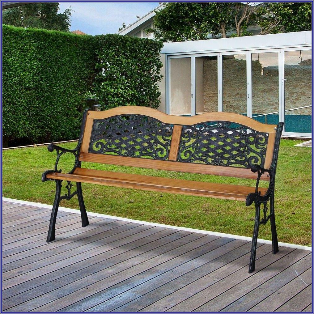 Cast Iron Patio Bench