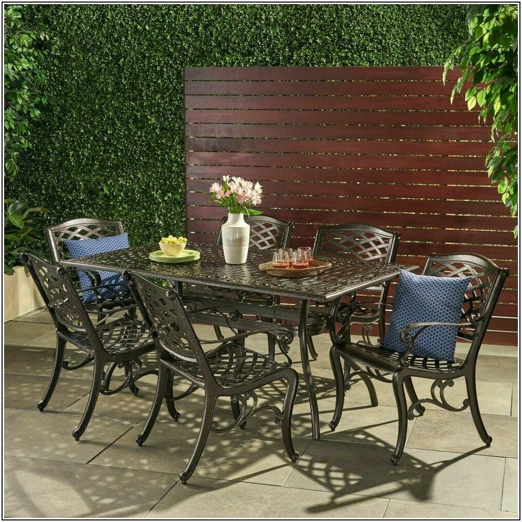Cast Iron Patio Dining Set