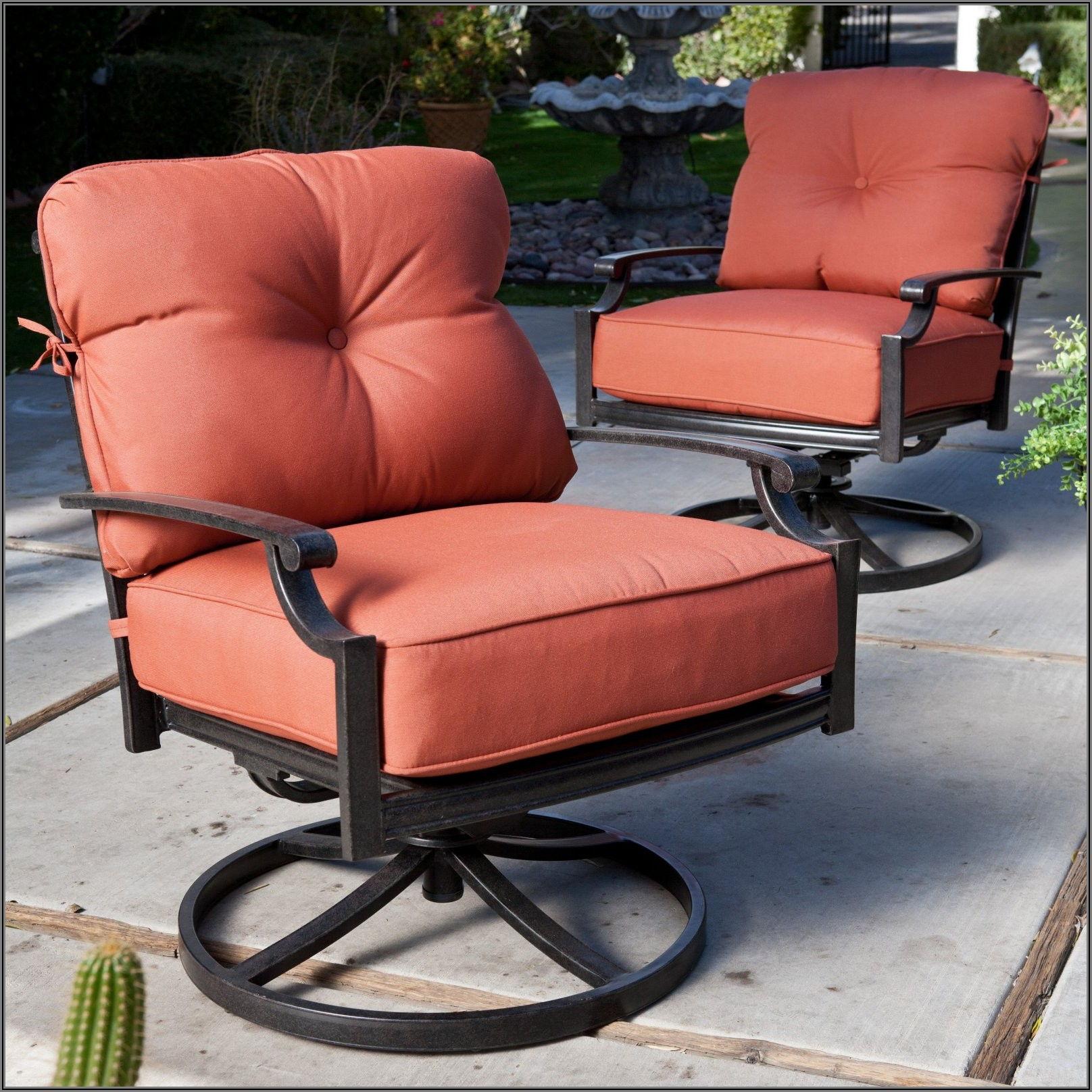 Cast Iron Swivel Patio Chairs