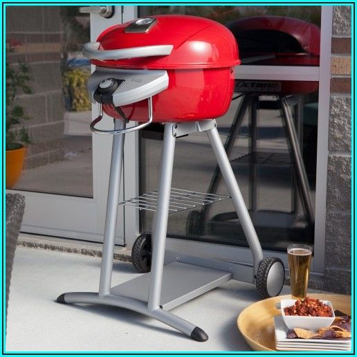 Char Broil Patio Bistro Electric Grill Red