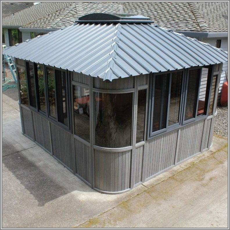 Charleston Aluminum Patio Gazebo