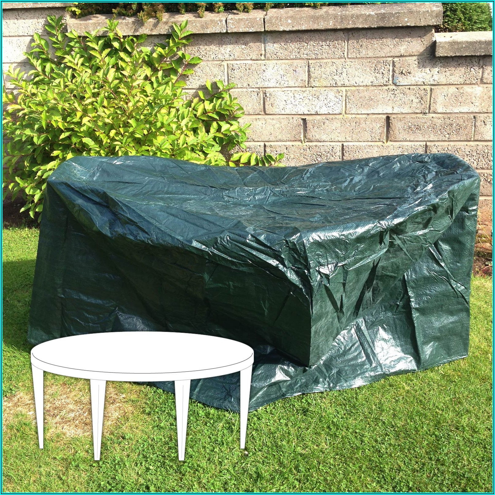 Circular Patio Set Cover
