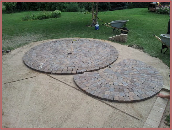 Circular Paver Patio Designs