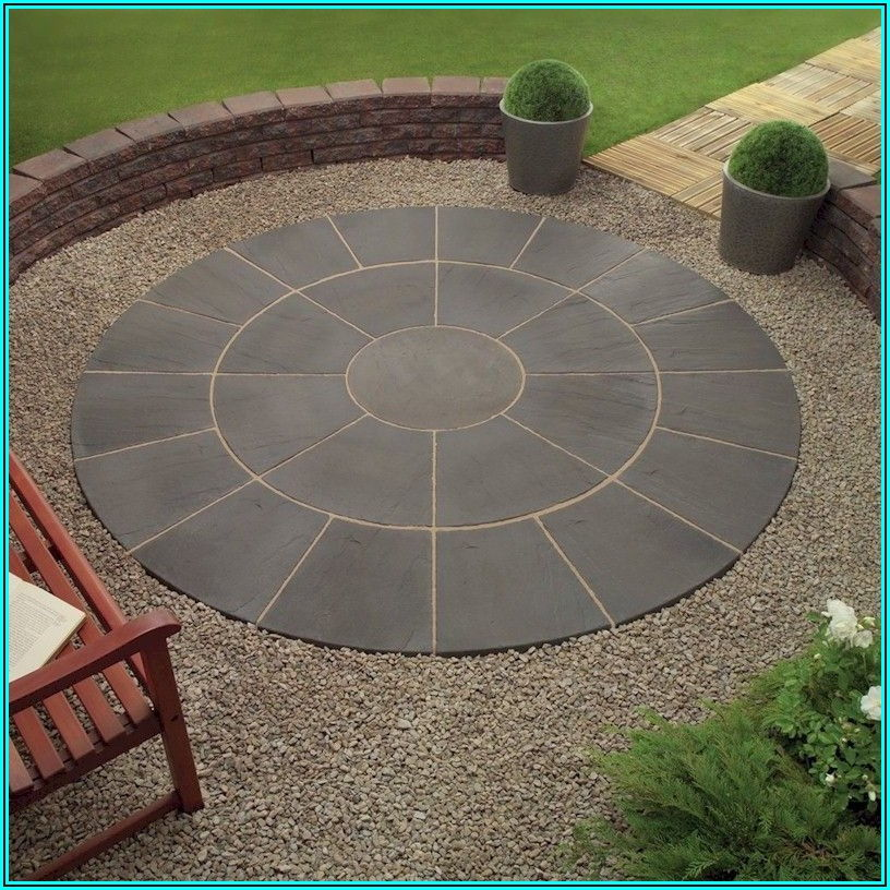 Circular Stone Patio Kits