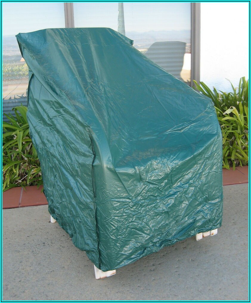 Clear Plastic Patio Chair Covers