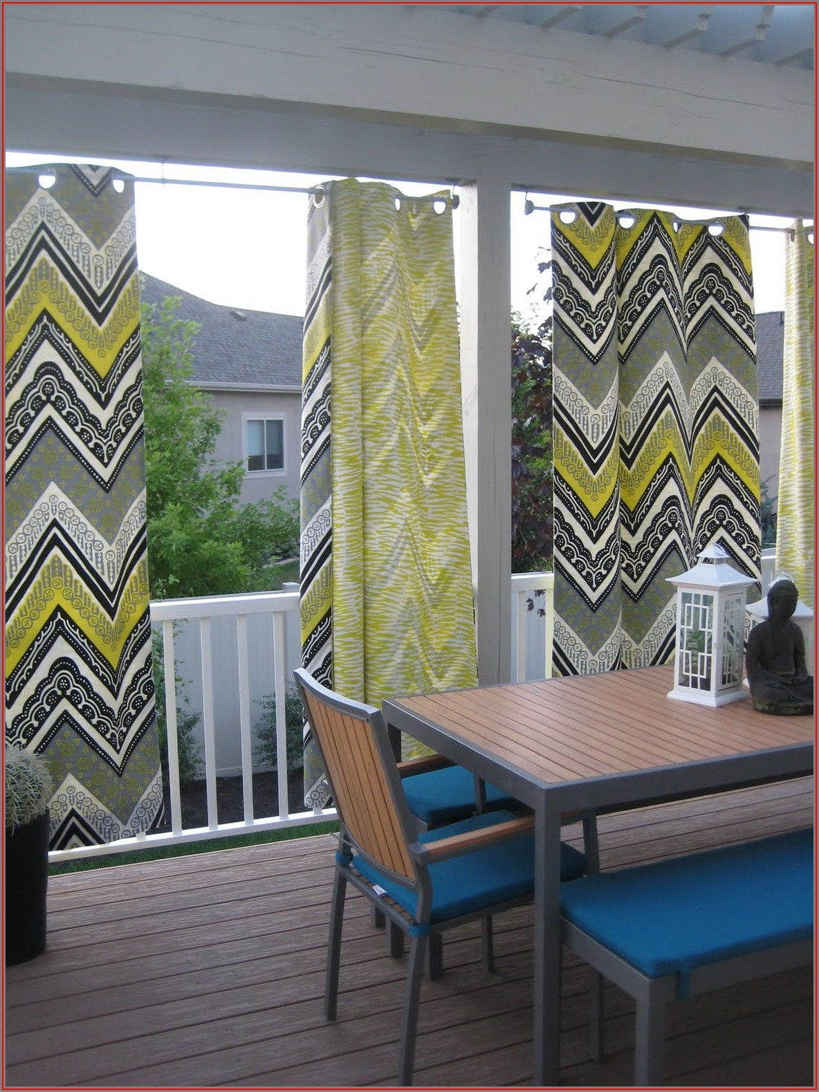 Clear Plastic Vinyl Patio Curtains Home Depot