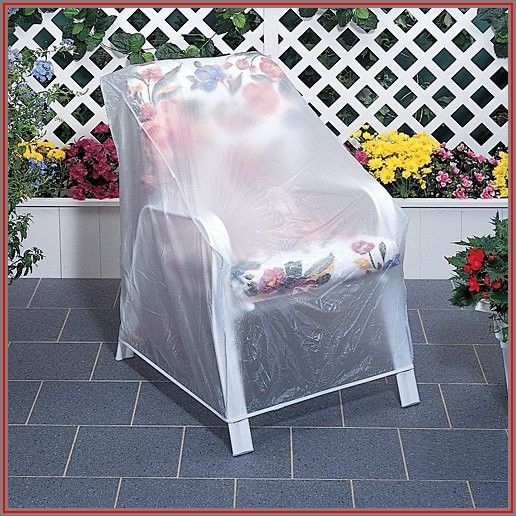 Clear Vinyl Patio Chair Covers